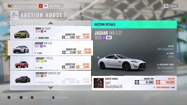 Forza Horizon 4 Auction House Guide How To Make Sweets Deals By