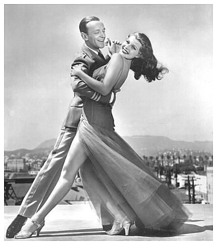 .Fred Astaire and Rita Hayworth