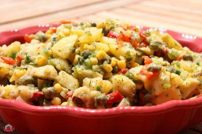 Patatesli Enginar Salatası