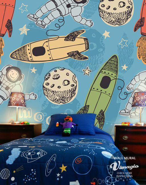 cosmos wall mural