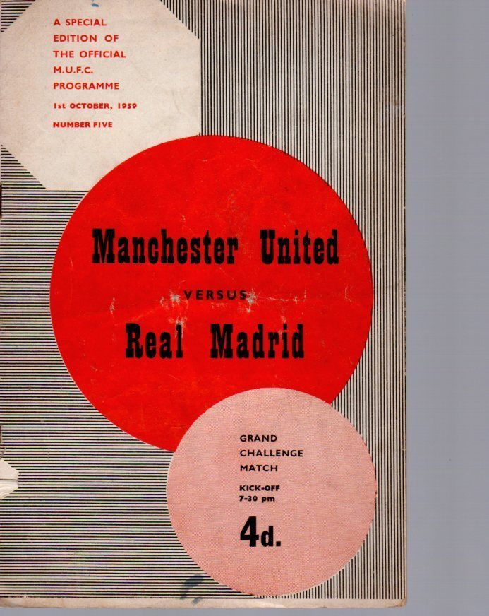 Manchester united v real #madrid 1.10.1959 #challenge #match,  View more on the LINK: 	http://www.zeppy.io/product/gb/2/112158120816/