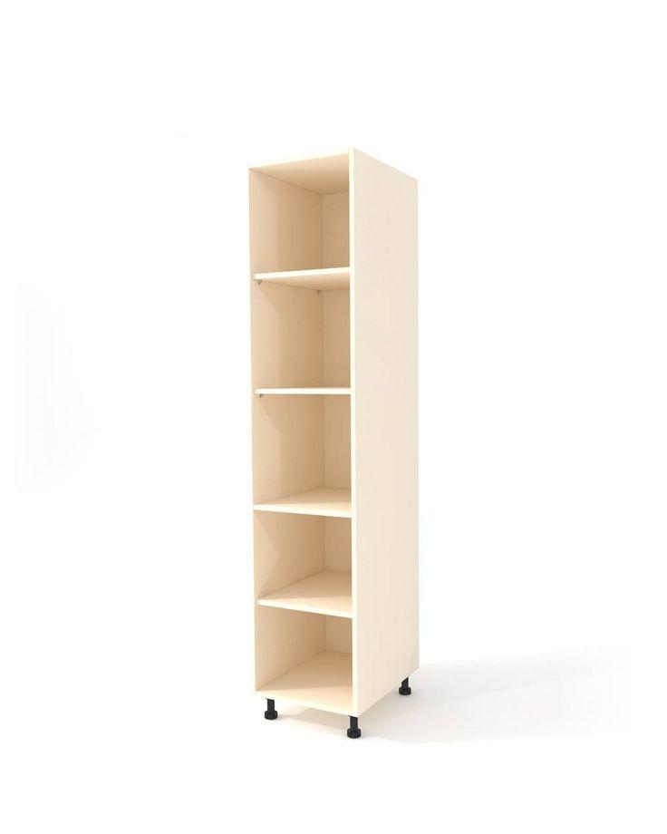 Creme high cabinet h-204 cm