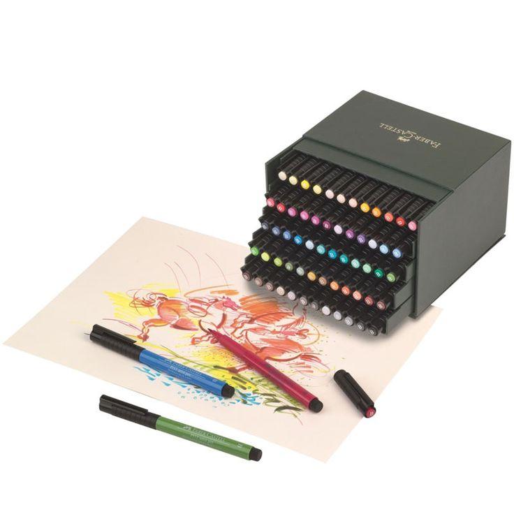 Faber-Castell PITT Artist Brush 60-set Ateljé