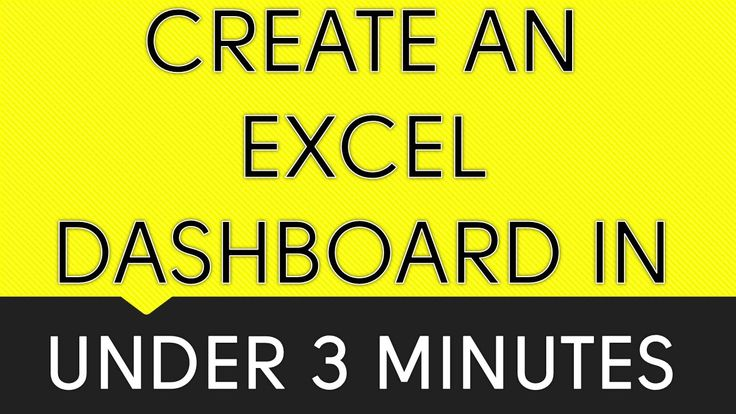 *** EXCEL DASHBOARD IN UNDER 3 MINUTES ***  REGISTER FOR OUR FREE EXCEL PIVOT TABLE WEBINAR: http://www.myexcelonline.com/138-5.html