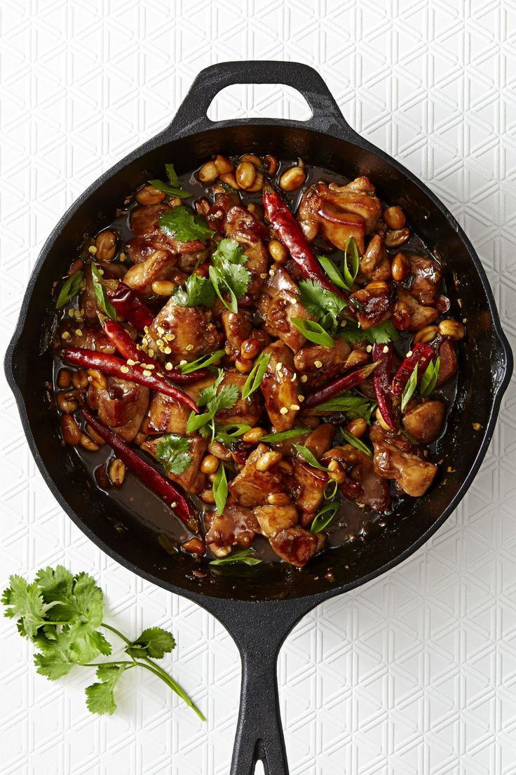 Fiery Kung Pao Chicken - GoodHousekeeping.com