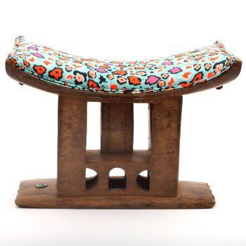 Ardmore Ceramics Batonka Stools: Ashanti Stool in Leo Lights