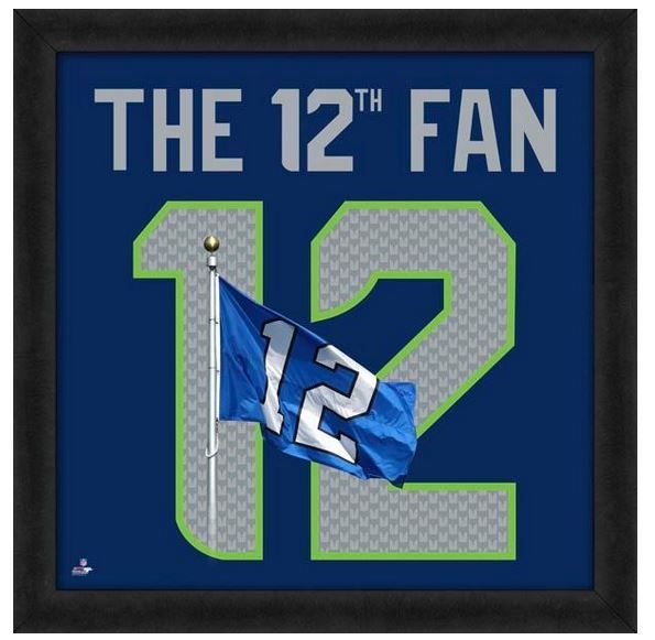 Seattle Seahawks 12th Fan Officially Licensed 20