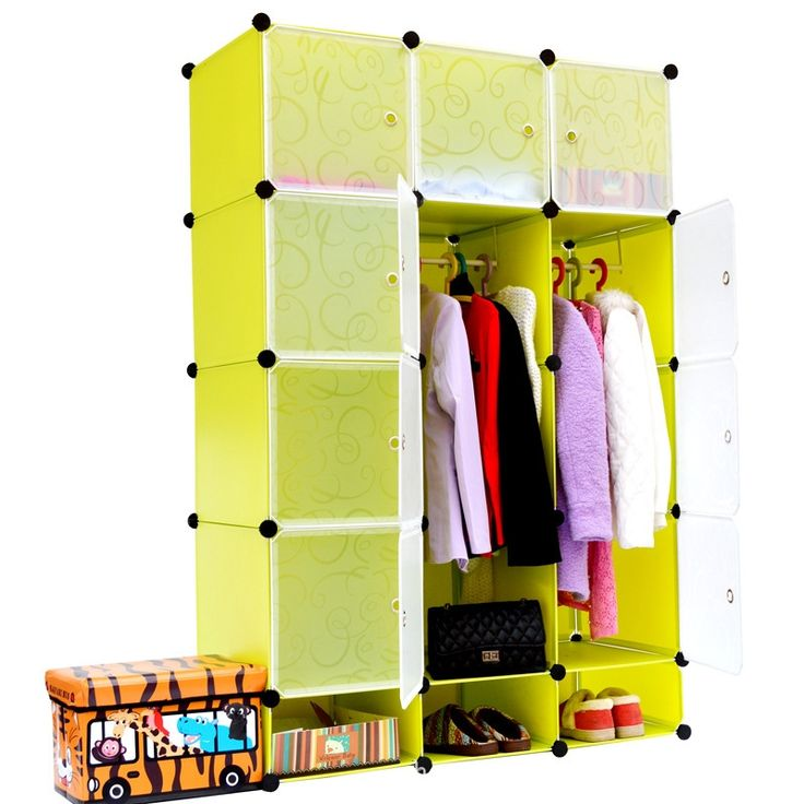 164.68$  Watch here - http://alib0f.worldwells.pw/go.php?t=32588853644 - 15 Cubes Children's Clothing And Plastic Combination Storage Diy Wardrobe Organiser Cheap Fitted Wardrobes Portable  164.68$