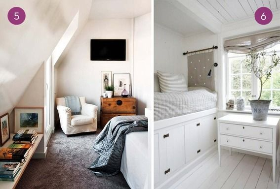 Eye candy 10 genius small space guest bedroom ideas for Guest bed for small spaces