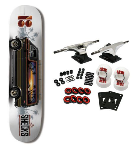 PLAN B Skateboard Complete RYAN SHECKLER VANTASTIC PROSPEC CONSTRUCTION 8.25