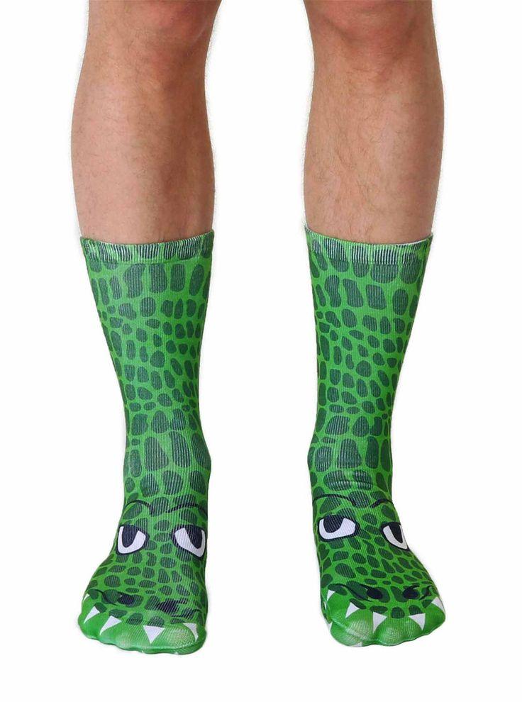 Crocodile Crew Socks