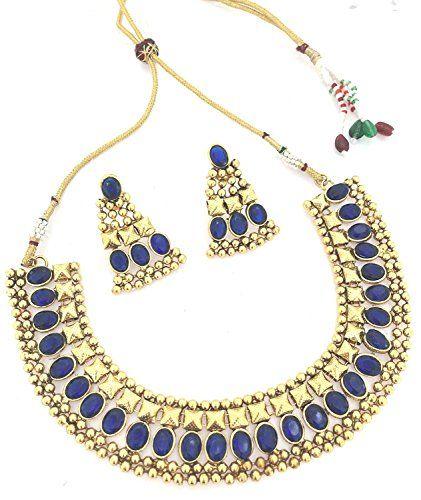 VVS Jewellers Elegant Indian Bollywood Gold Plated Blue S... https://www.amazon.com/dp/B072M9RGDT/ref=cm_sw_r_pi_dp_x_9jZvzbPCYYCKS