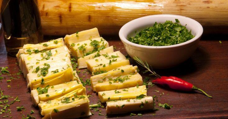 Palmito assado é um ótimo acompanhamento para o churrasco. Clique no MAIS para ver a receita