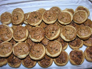 Mini Pecan Phyllo Tarts Recipe — Dishmaps