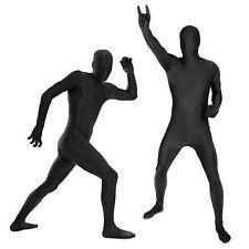 Morph Suits Black stretchy spandex suit Stag Do fancy dress costumes