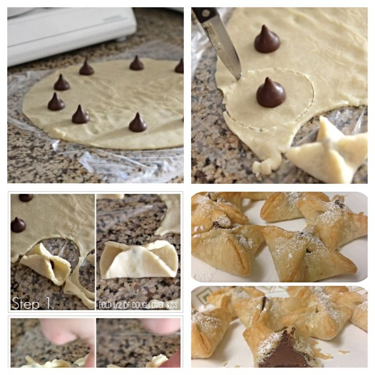 Hershey Kiss Pies Ingredients 1 Pillsbury pie crust 14 Hershey ...