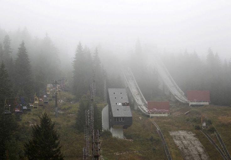 Abandoned Olympic Venues SKI JUMP, SARAJEVO, 1984 Winter Olympics