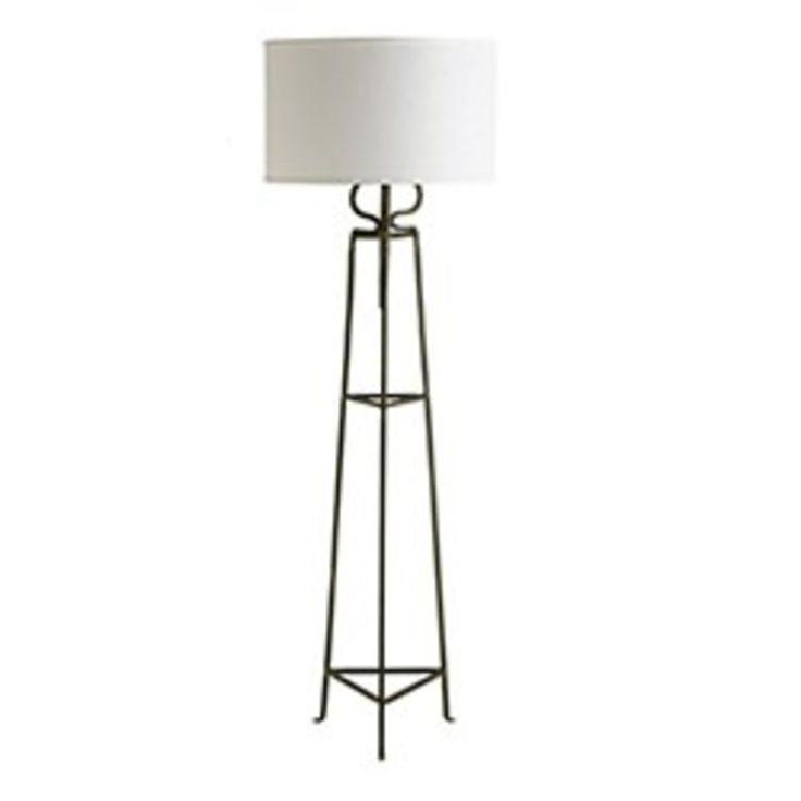 8. Industrial Iron Floor Standing Lamp, $296 trade price