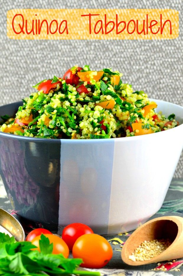 Not Just For Passover Recipes: Quinoa Tabbouleh   May I Have That Recipe