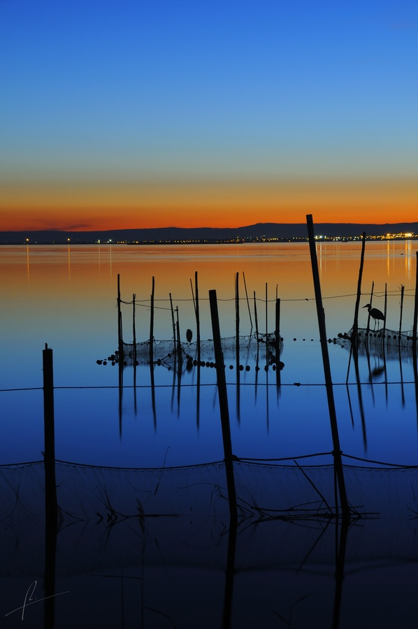 Sunrise in Albufera, Spain