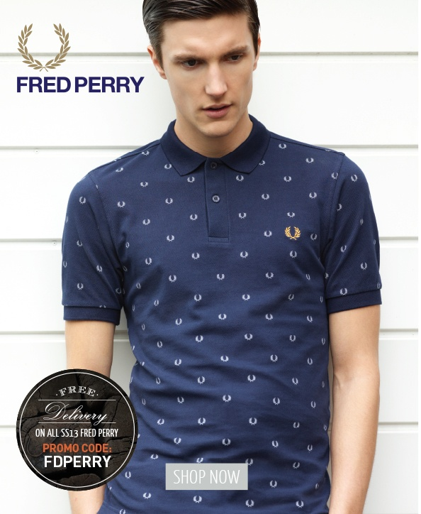 Woodhouse Clothing - (UK) Fresh Drop SS13 Fred Perry