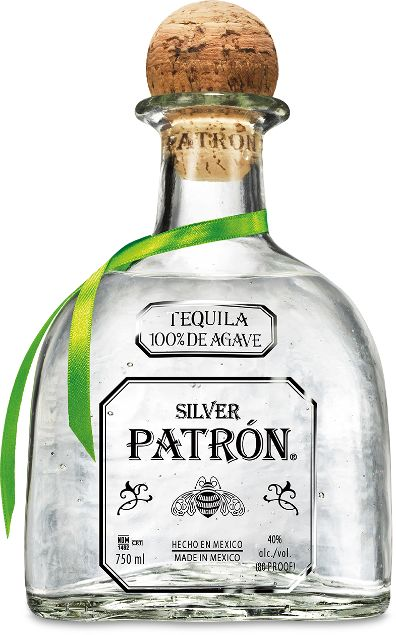Patron non vintage silver tequila