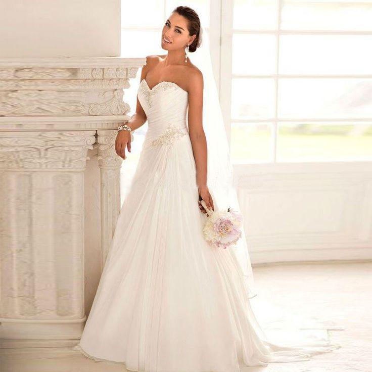 55 besten Wedding Dresses Bilder auf Pinterest   Brautkleider ...