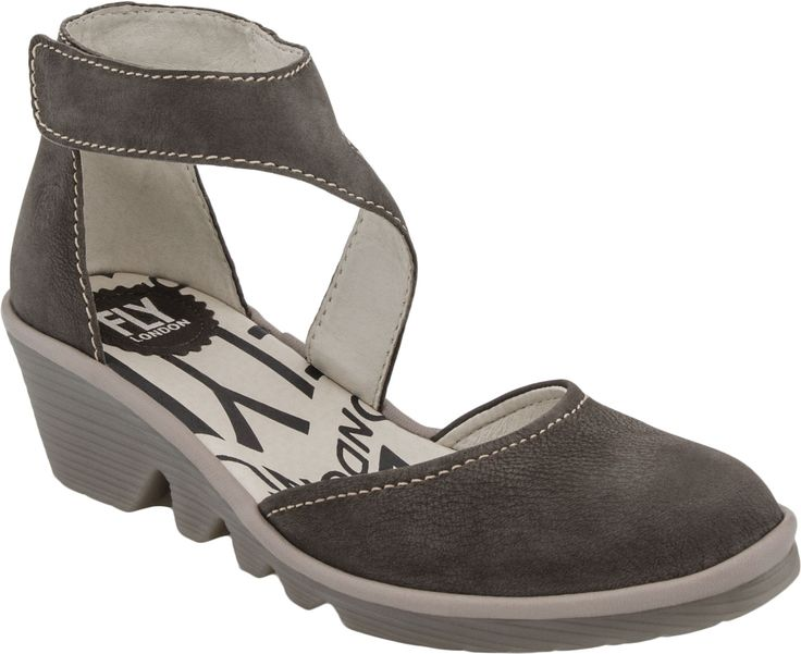Buy Fly London Piat Closed Toe Wedge on sale at PlanetShoes.com. Order Fly London shoes with free shipping & returns! Click or call 1-888-818-7463. (Ground/Mushroom)
