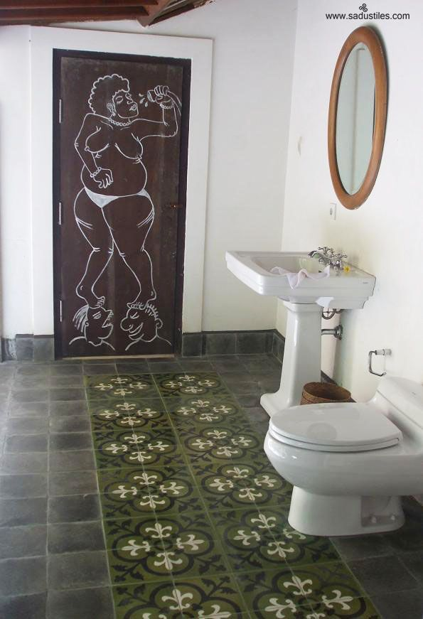 sadus tiles in bathroom motif k30i n the colours gmx1020