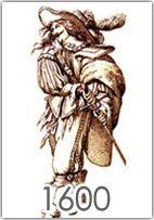 La moda maschile dal 1600 al 1650 abbandona gli stilemi Rinascimantali e si adatta ai dettami di ricchezza e stravaganza del Barocco