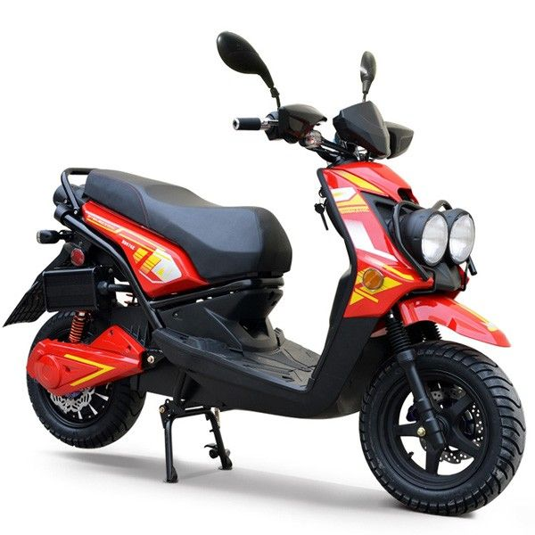 2000w Boom 72v Electric Moped Scooter 576z Redfoxpowersports Electric Moped Scooter Moped Electric Moped