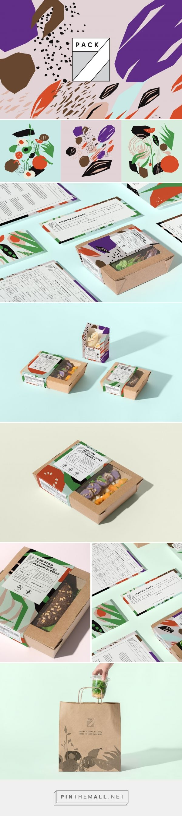 7pack food packaging design by Godspeed Branding - http://www.packagingoftheworld.com/2018/02/7pack.html