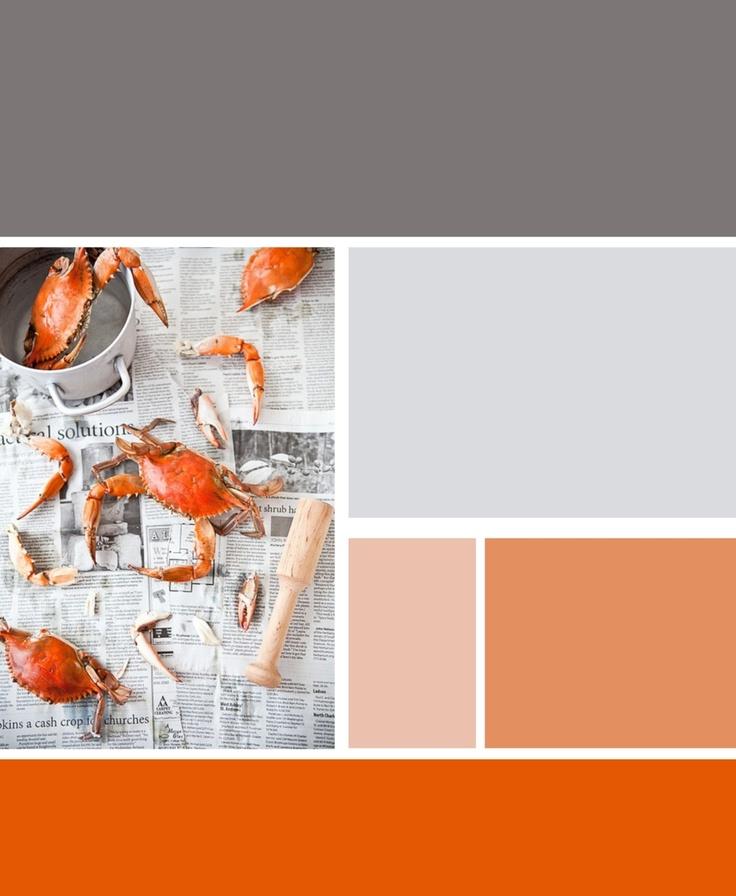 1000 Images About Grey Orange Living Room On Pinterest