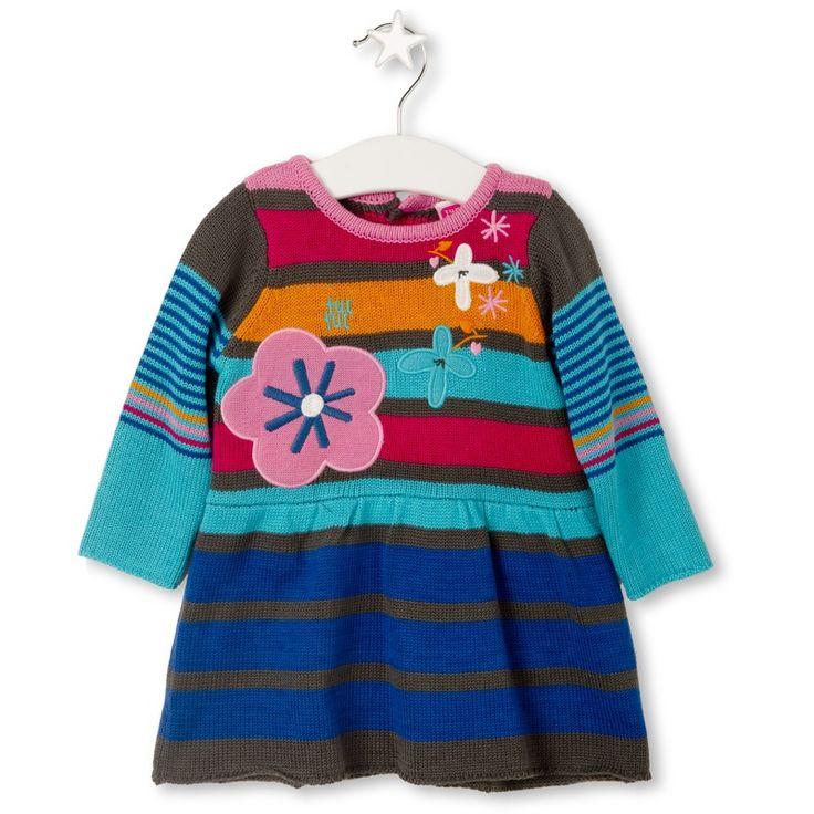 παιδικό φόρεμα πλεκτό