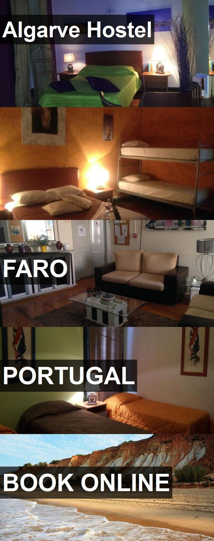 Hotel Algarve Hostel in FARO, Portugal. For more information, photos, reviews and best prices please follow the link. #Portugal #FARO #AlgarveHostel #hotel #travel #vacation