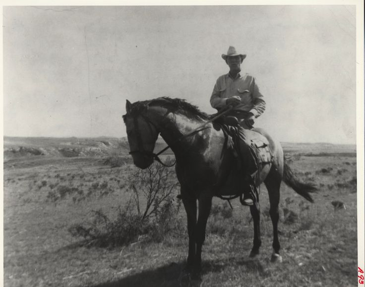 Charles Goodnight   ... on the Goodnight Ranch before the death of Charles Goodnight in 1929