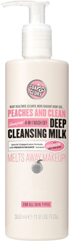 Soap & Glory Peaches And Clean Deep Cleansing Milk