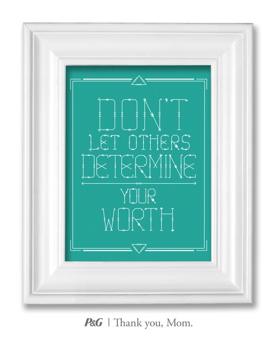 """""""Don't let others determine your worth."""" What's the best advice your mom gave you? In the spirit of Mother's Day, tweet the words of wisdom she passed down to you with #momswisdom or post on https://www.facebook.com/thankyoumom"""