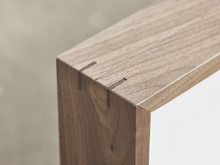 Details | Our Walnut Light Box  - Volumes Gallery