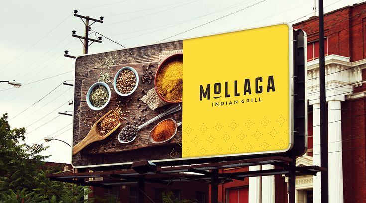 Billboard Design for Restaurant Branding - Longitude | Dustin Myers