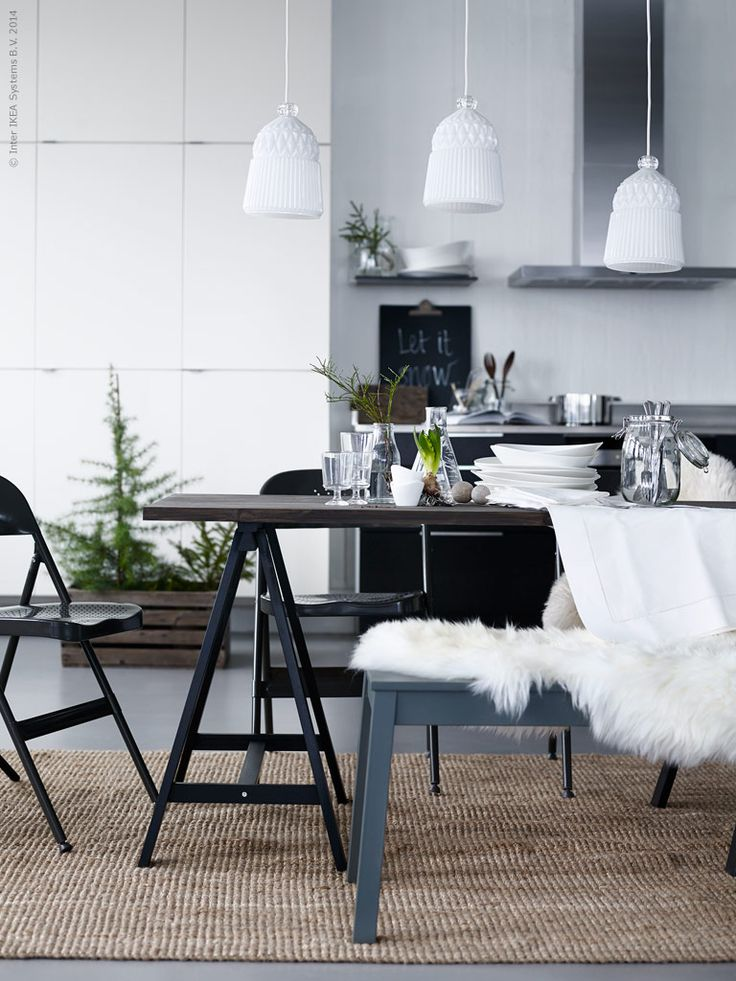 Pella Hedeby christmas styling for Ikea