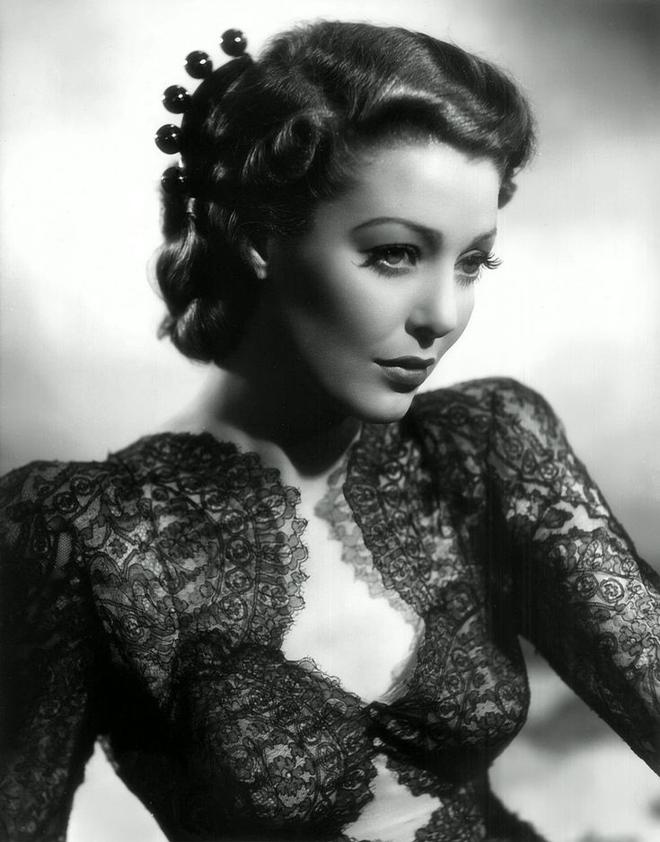 actrice loretta young