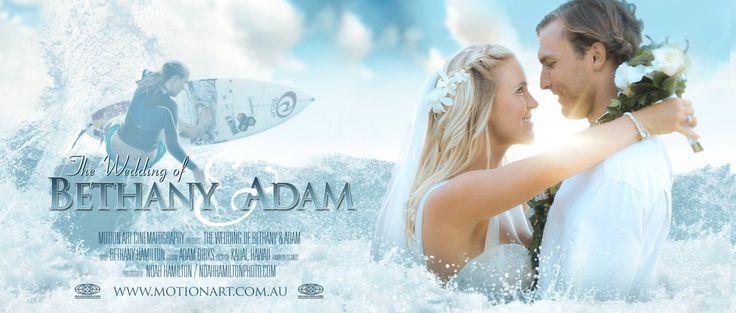Bethany Hamilton & Adam Dirks | Fairy Tale Wedding in Hawaii. Video highlights from the wedding of 'Soul Surfer' Bethany Hamilton and Adam - Beautiful!!