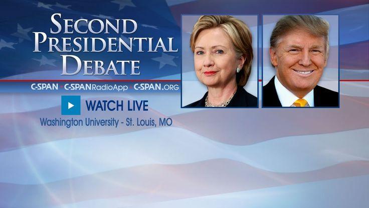 Second Presidential Debate (C-SPAN)
