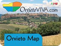 Downloadable shopping map of Orvieto - http://www.orvietoviva.com/orvieto-map-2013.pdf