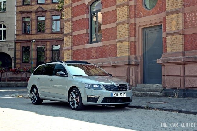 skoda octavia rs combi 2013 steel grey skoda. Black Bedroom Furniture Sets. Home Design Ideas
