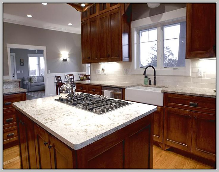 Kitchen Island Stove Top | Kitchen island with stove ...