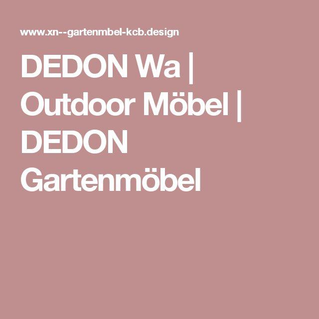 DEDON Wa | Outdoor Möbel | DEDON Gartenmöbel