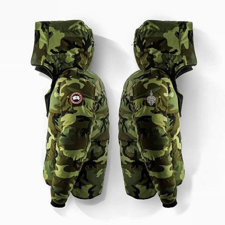 Canada Goose has created two limited-edition Macmillan Parkas for the 2016 NBA All-Stars – Carbon Camo for the Eastern Conference All-Stars, and Classic Camo (above). #canadagoose #nbaallstarto #mensfashion #freshnessmag #camo