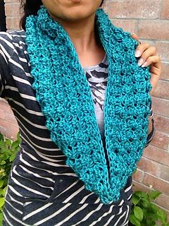 Sherry Berry Cluster Adult Infinity Scarf